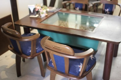 金魚テーブル1