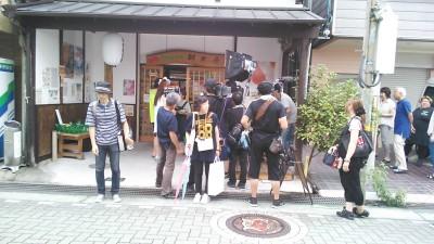 NHK取材写真