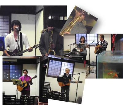 柳楽屋での「樂」演奏会